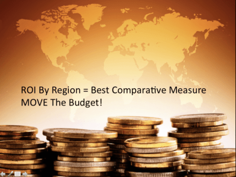 Moving Budgets Across Regions Increases ROI Source:Webcertain