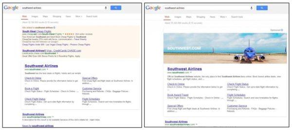 google-banner-ad-vs-standard-branded-results