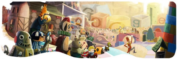 Google 2012 holiday logo