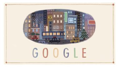 Google Logo December 25 2013