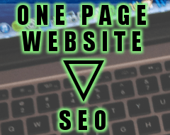 One Page Website SEO