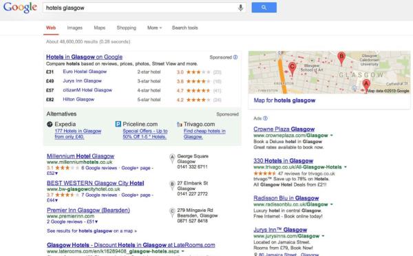 Google Rival Links