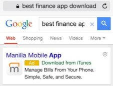 adwords mobile app download ad