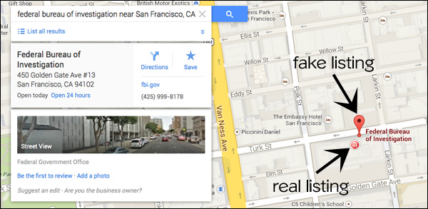 google-maps-fake-fbi