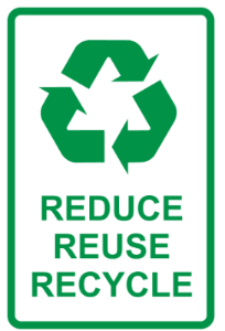 Reduce Reuse Recyle Logo
