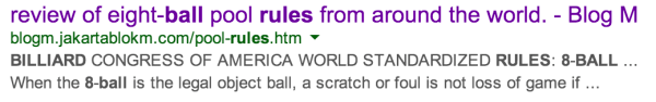 Google Rewrites Title Tag