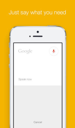 Google ios Search version 4.0