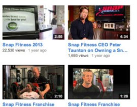 Fitness videos posted by snap fitness