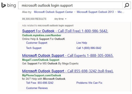 Bing Ads tech support