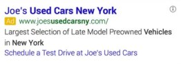 Dynamic Sitelinks Google AdWords