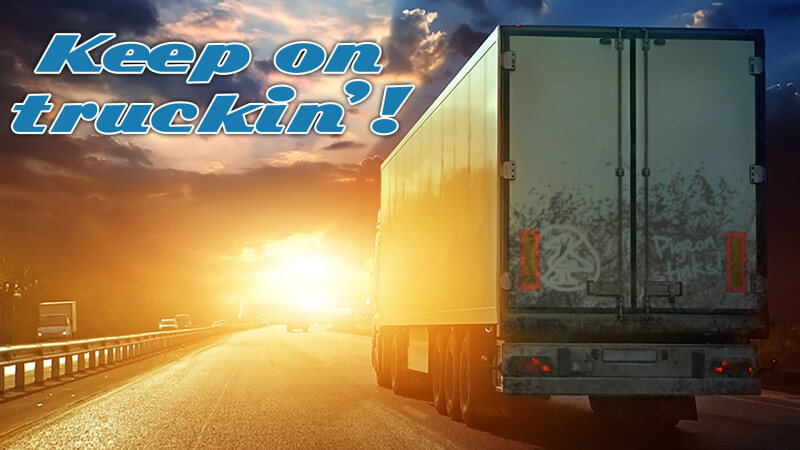 Google Pigeon - Keep on Truckin'