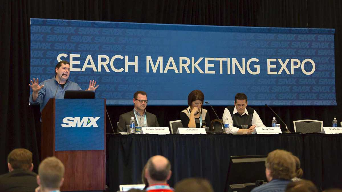 Speaking at SMX