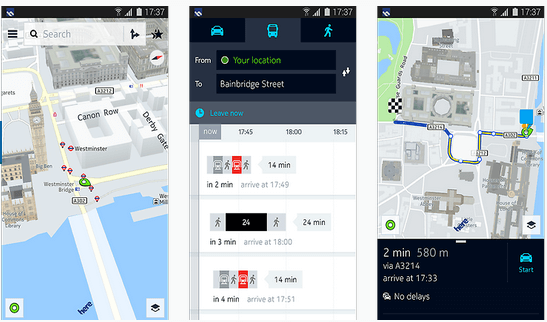 Here Maps for Android