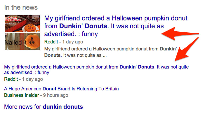 dunkin donuts reddit and google news