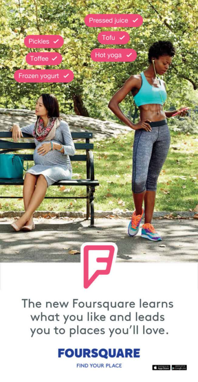 foursquare campaign