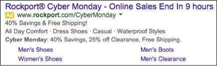 Image of Rockport ad