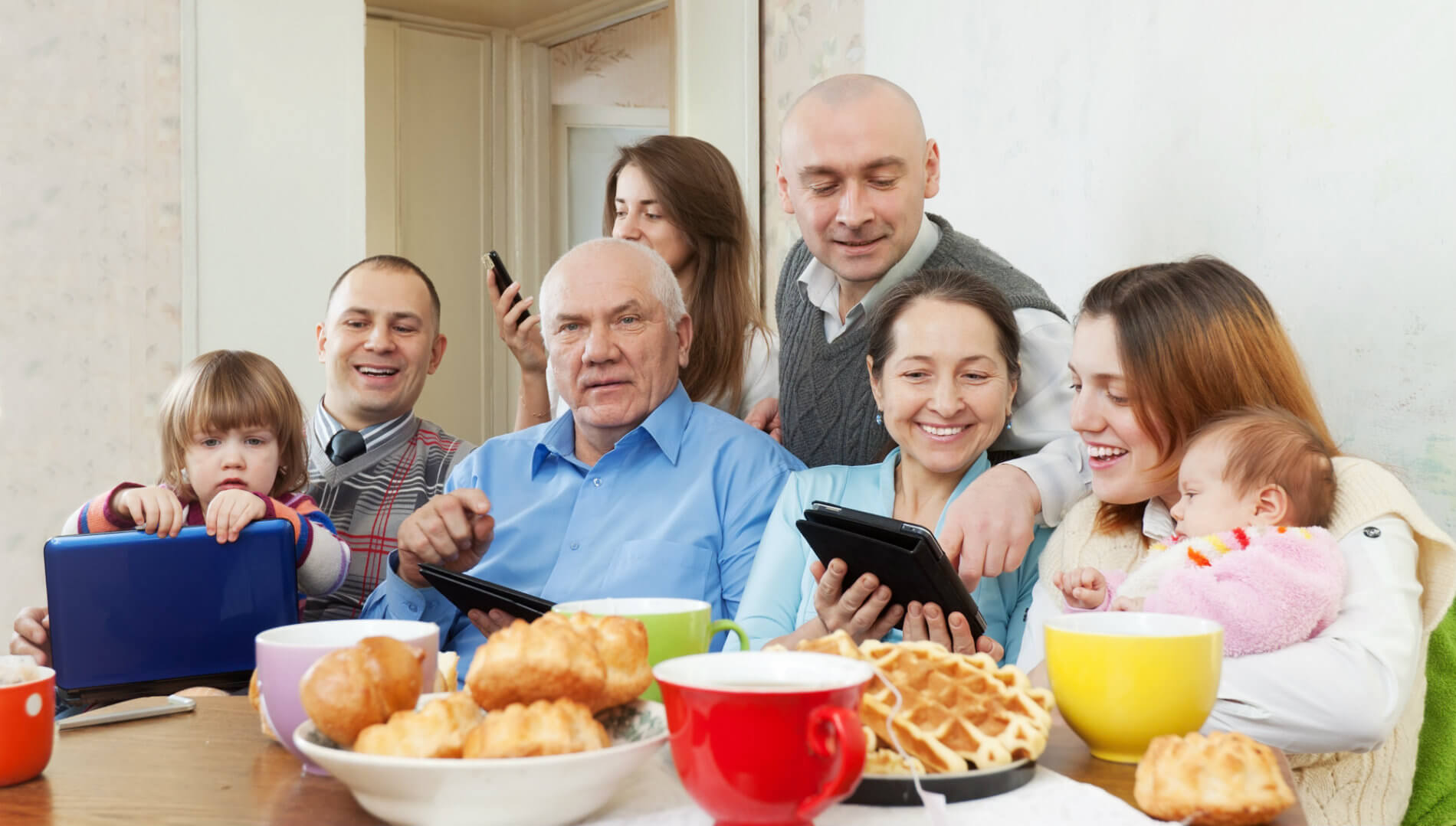 Reaching The Modern Family Cross Device Advertising Is A
