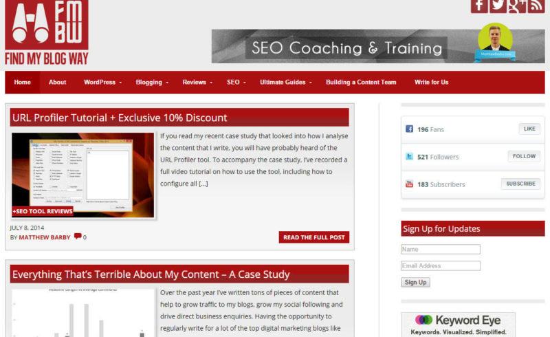 findmyblogway.com