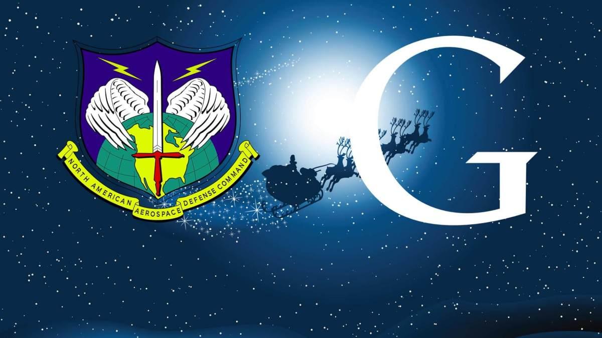 NORAD Google Santa Tracking