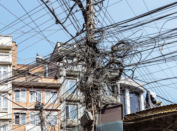 Rats Nest of Wires