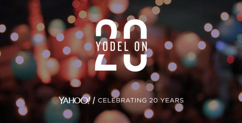 Yahoo turns 20