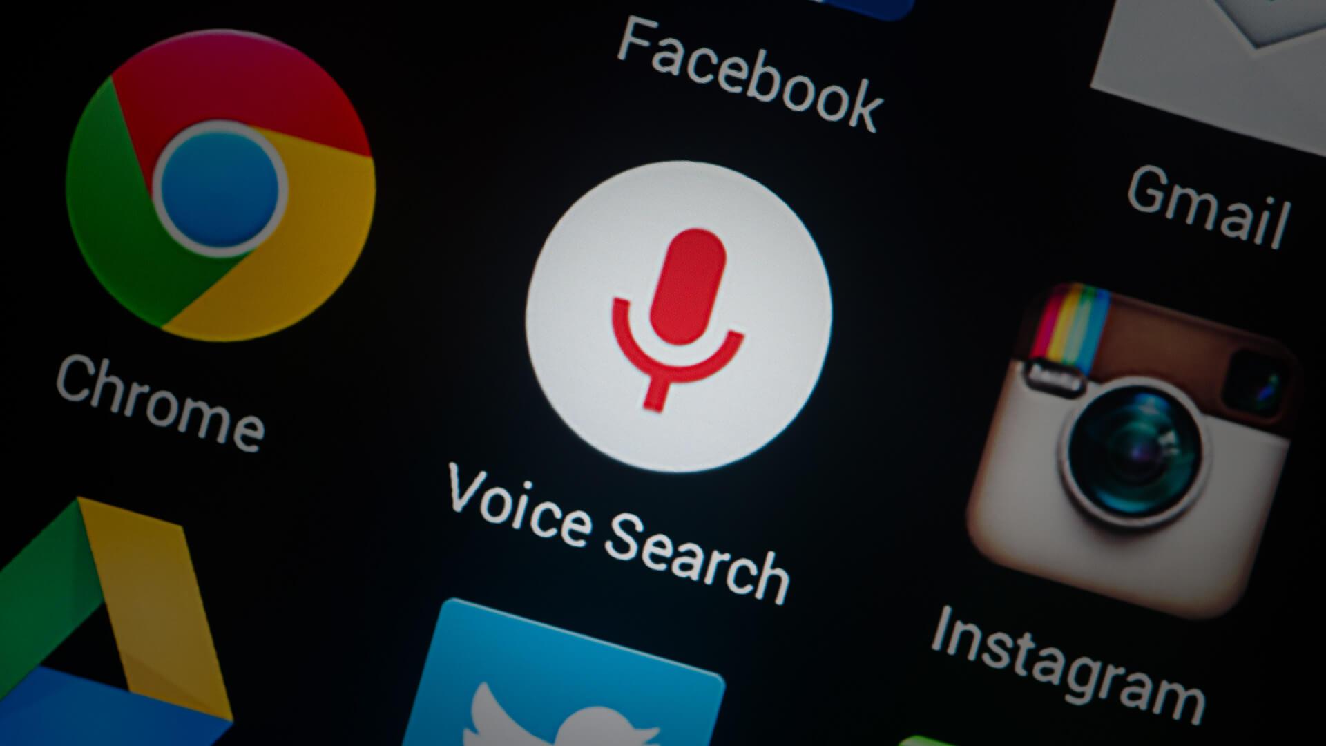 Kết quả hình ảnh cho voice search