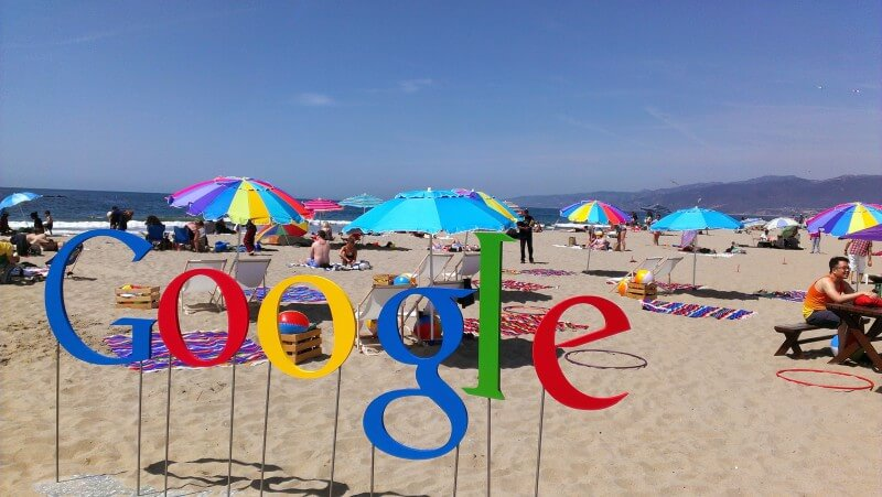Google At The Beach
