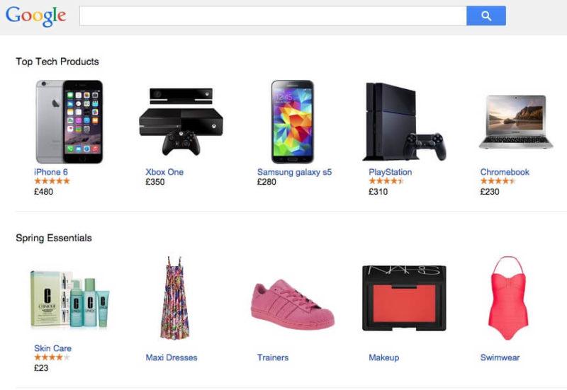 Google Shopping UK