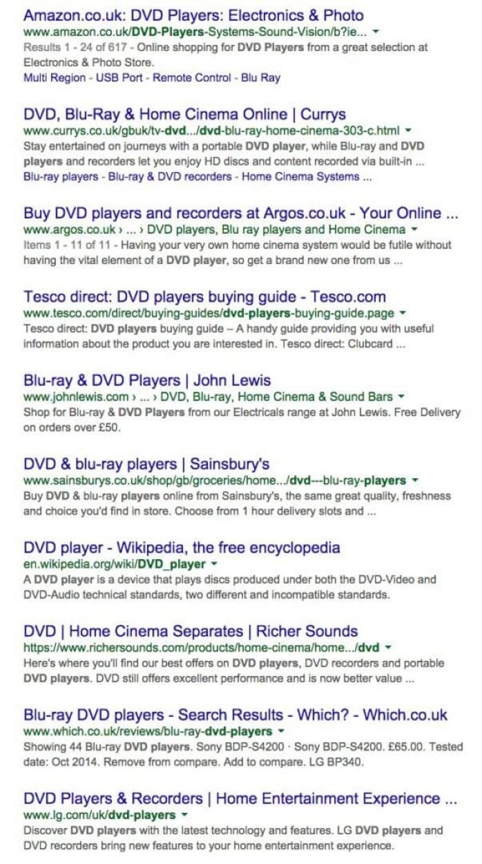 google dvd players