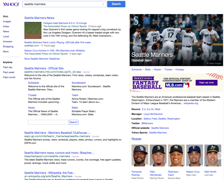 yahoo-seattle-mariners