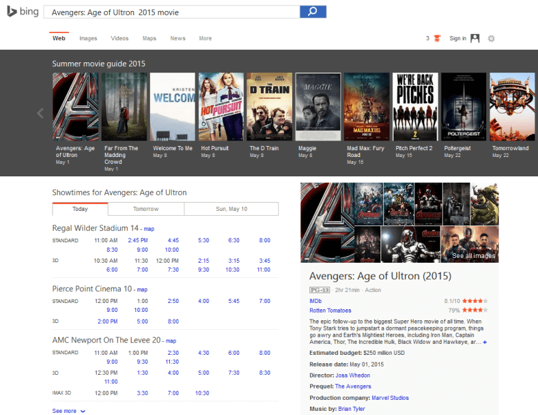 Bing summer movie guide search_movie detail