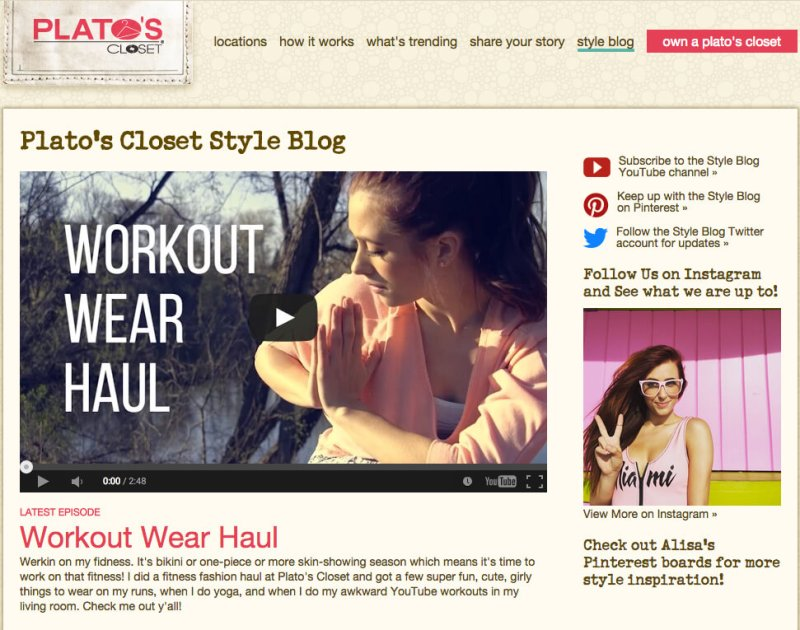 Platos Closet Blog Image - Search Influence