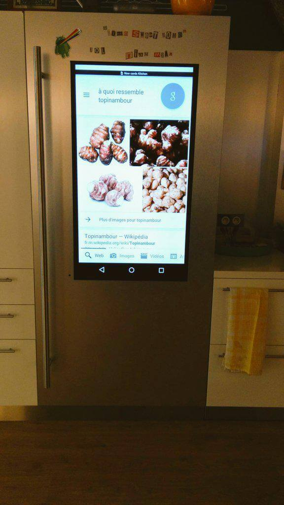 Google Paris Refrigerator