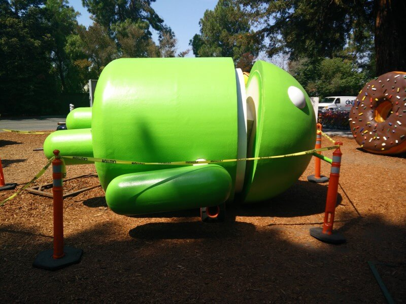 Google Android Statue Repair