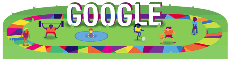 Google Special Olympics doodle