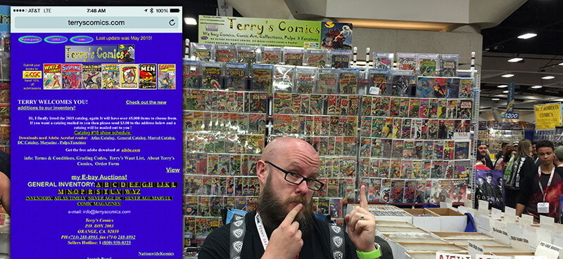 Local SEO lessons from ComicCon - make sure your site has a good design and UX