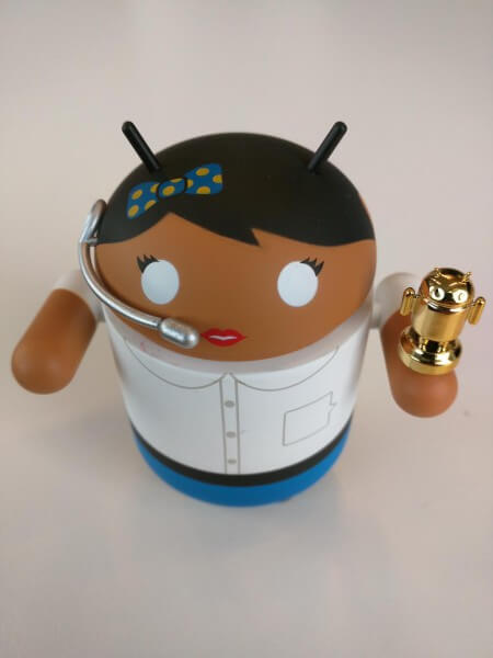 Google Talk Android Toy
