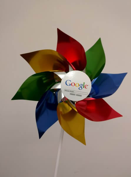 Google Wind Spinners