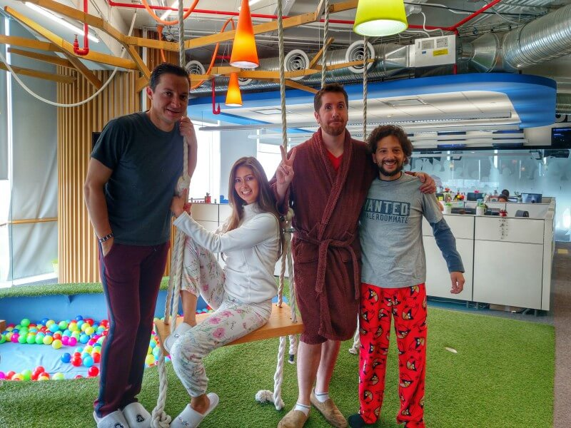 Pajama Day At Google