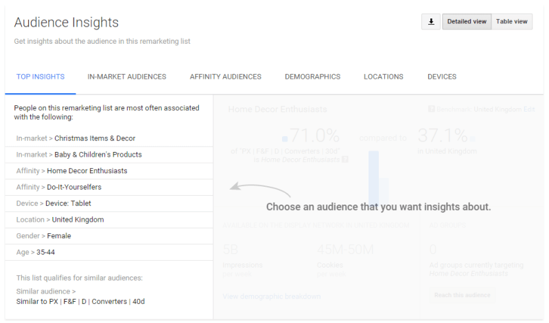 Audience Insights Report