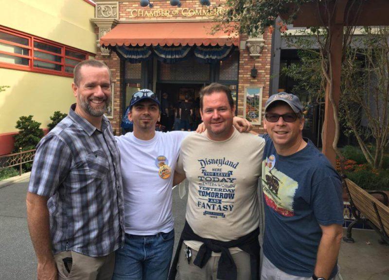 Gary Illyes & Danny Sullivan At Disneyland