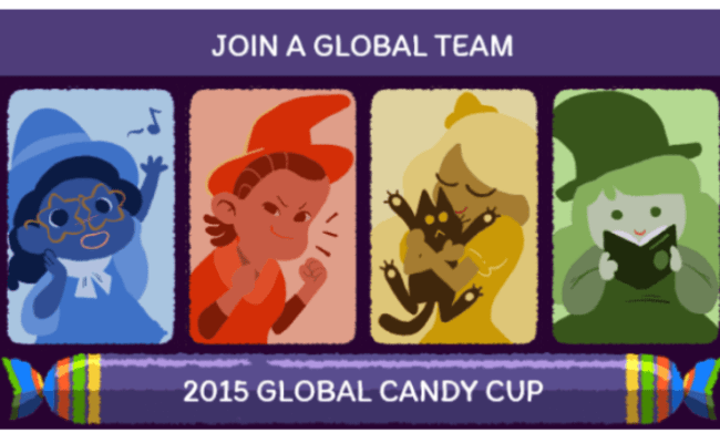 Halloween Doodle Turns Google Logo Into Global Candy Cup