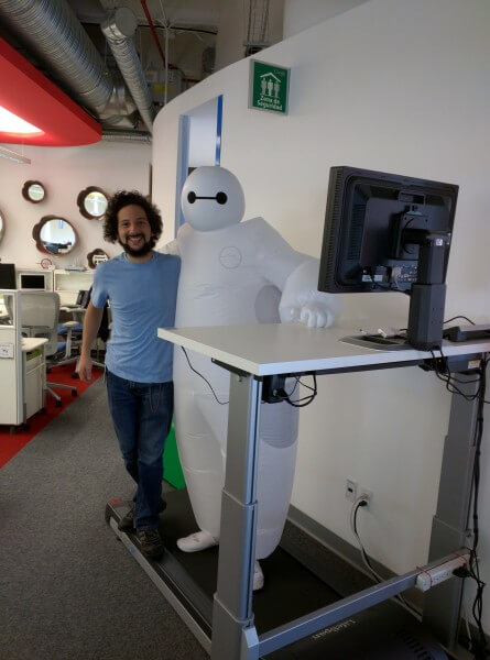 Baymax Robot From Big Hero 6 at Google