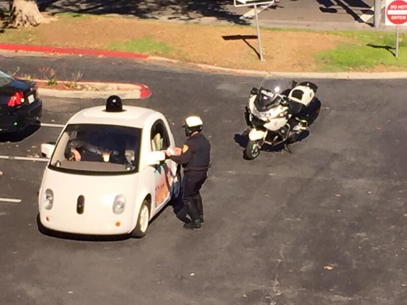 Google Self-Driving Car For Driving Too Slow