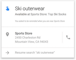 google now nearby store reminder alerts