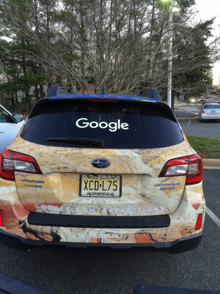 Google Expeditions Subaru