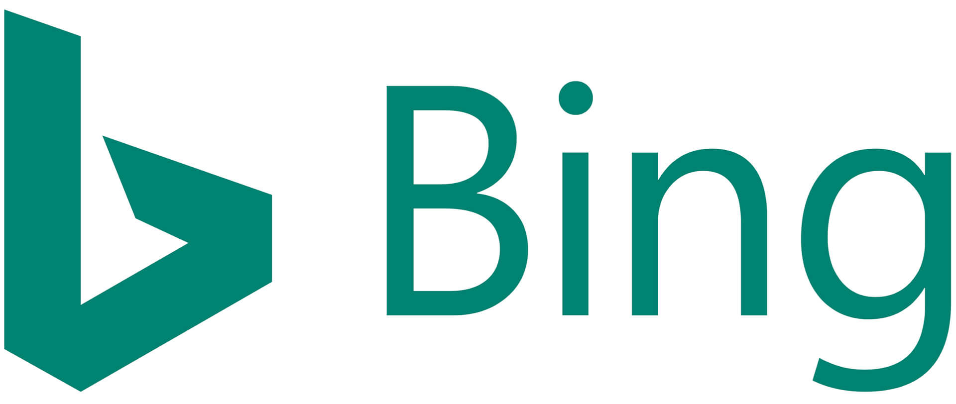 "Bing Updates Its Logo With Uppercase ""B"" & New Teal Blue Color"