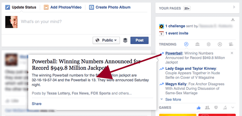 facebook-powerball
