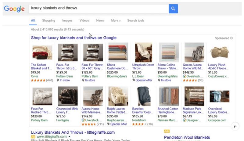 google plas fully expanded - channeladvisor