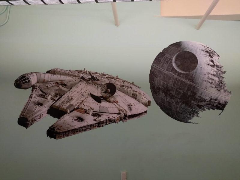 Google Star Wars wall stickers
